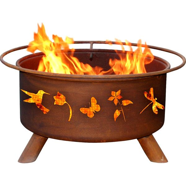 Flower & Garden Fire Pit image number 0