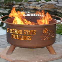 Fresno State Wood Burning Fire Pit