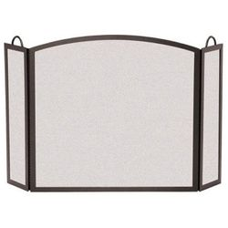 "Full Arch Three Panel Fireplace Screens- 46"" x 29"""