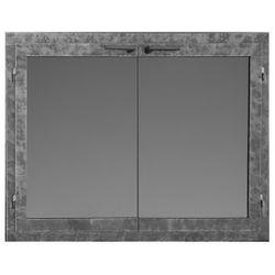 Fullview Rectangular Masonry Fireplace Doors