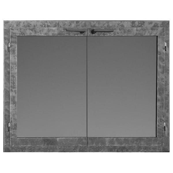 Fullview Rectangular Masonry Fireplace Doors image number 0