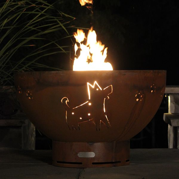 Funky Dog Gas Fire Pit image number 1