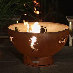 Kokopelli Gas Fire Pit