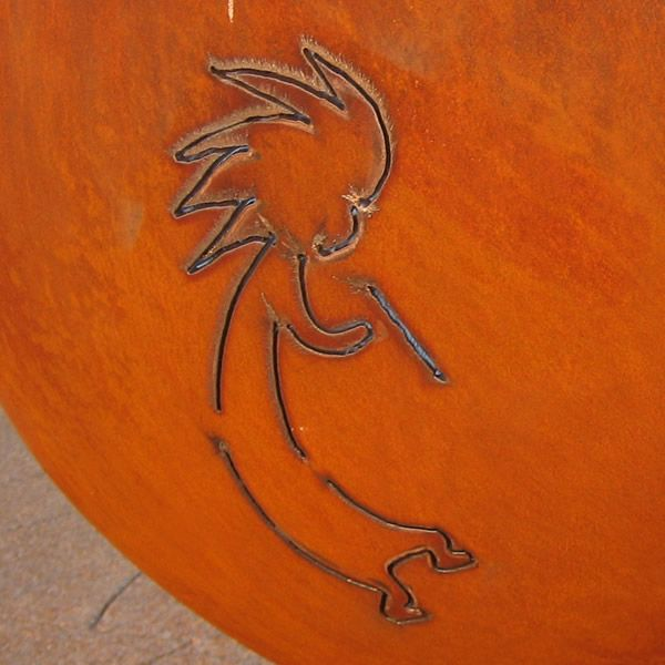 Kokopelli Gas Fire Pit image number 1