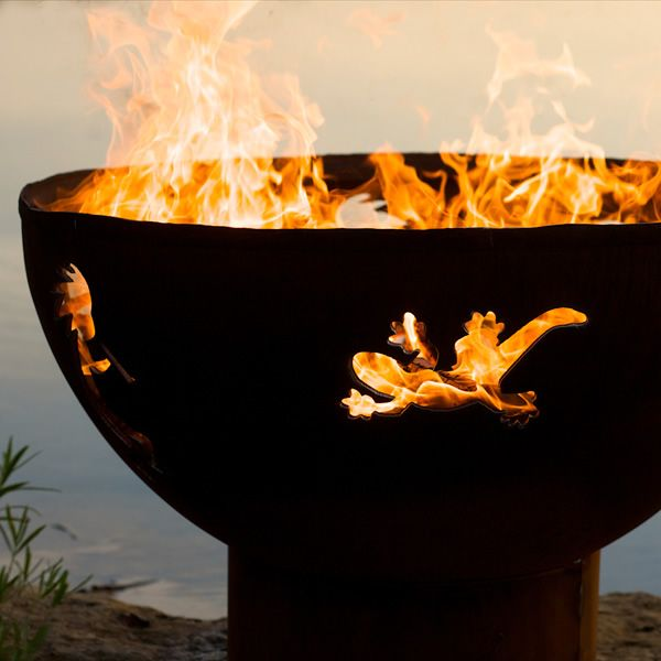 Kokopelli Wood Burning Fire Pit image number 5