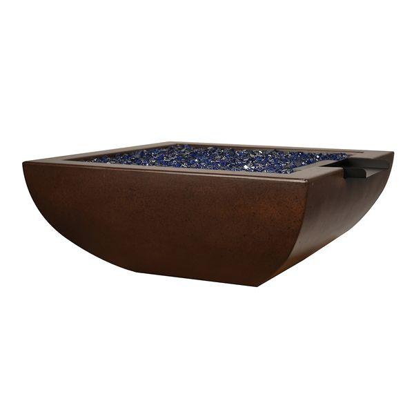 Korosi Concrete Fire & Water Bowl image number 0