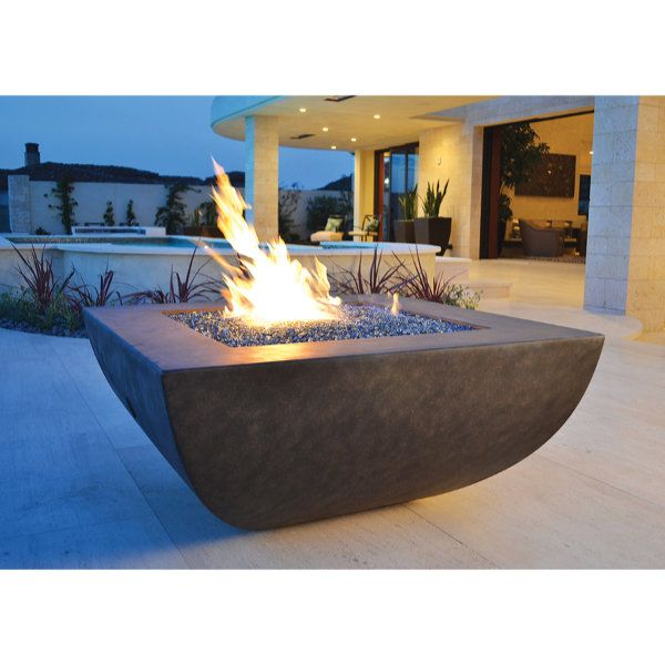 Korosi Concrete Fire Pit image number 0