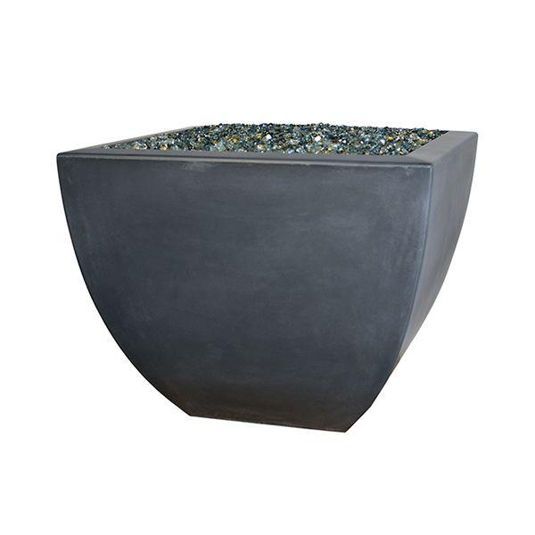 Korosi Concrete Fire Vase image number 0