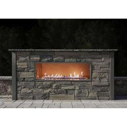 Nicolock Kalea Bay Linear Outdoor Gas Fireplace