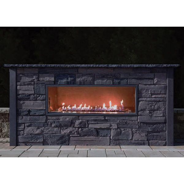 Nicolock Kalea Bay Linear Outdoor Gas Fireplace image number 0