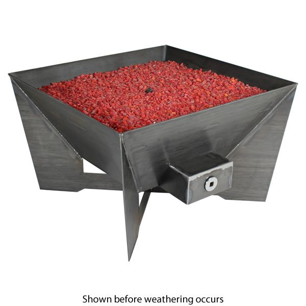 Kenna Fia Steel Gas Fire Pit image number 1