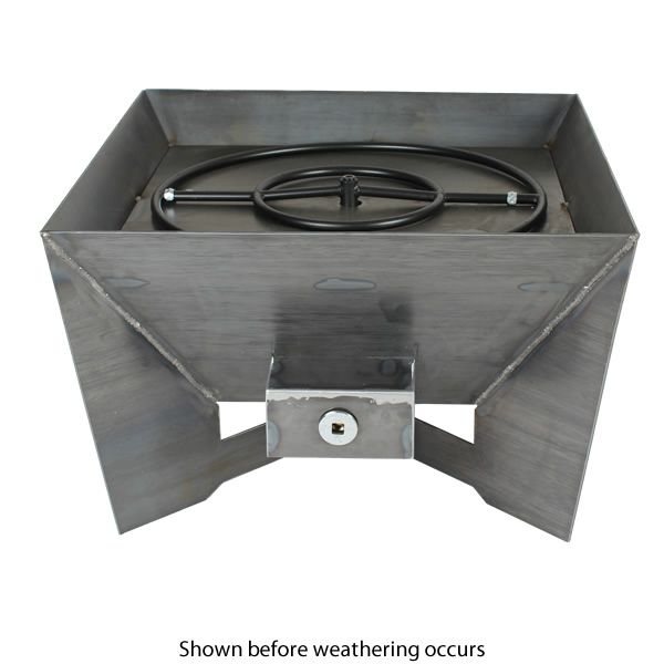 Kenna Fia Steel Gas Fire Pit image number 2