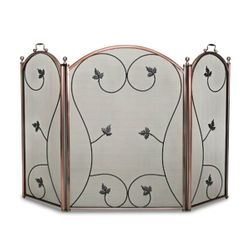 "Kentfield Arched Three Panel Fireplace Screen - 52"" x 34 1/2"""