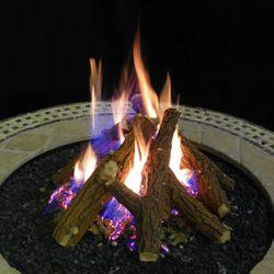 Kiva Vented Gas Log Set