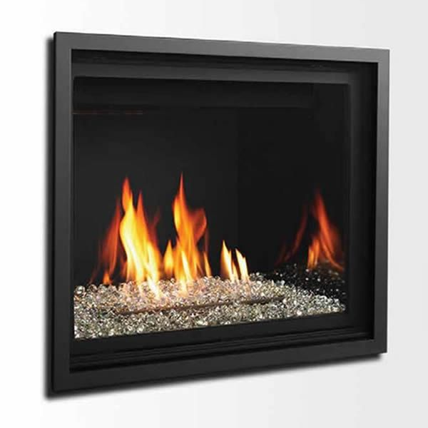 "Kingsman ZCV39 Decorative Zero Clearance Direct Vent Gas Fireplace - 39"" image number 2"