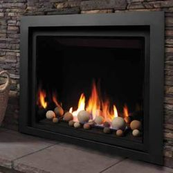 "Kingsman ZCV39 Decorative Zero Clearance Direct Vent Gas Fireplace - 39"""