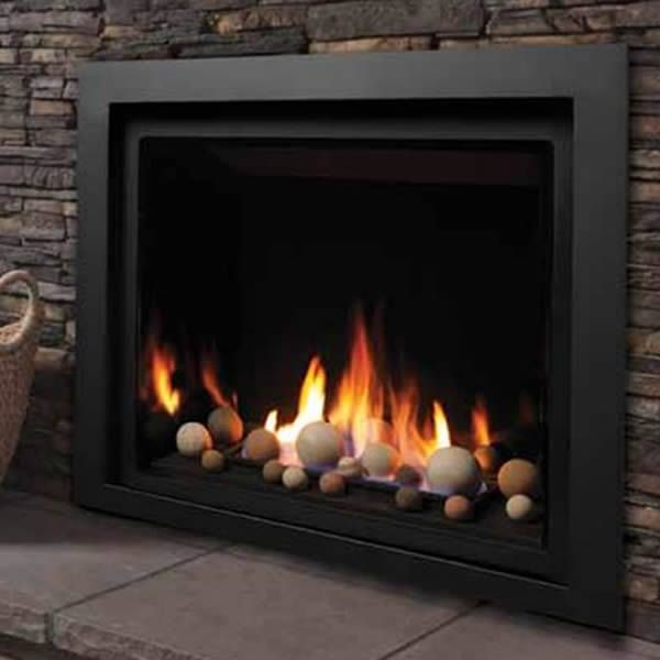 "Kingsman ZCV39 Decorative Zero Clearance Direct Vent Gas Fireplace - 39"" image number 0"
