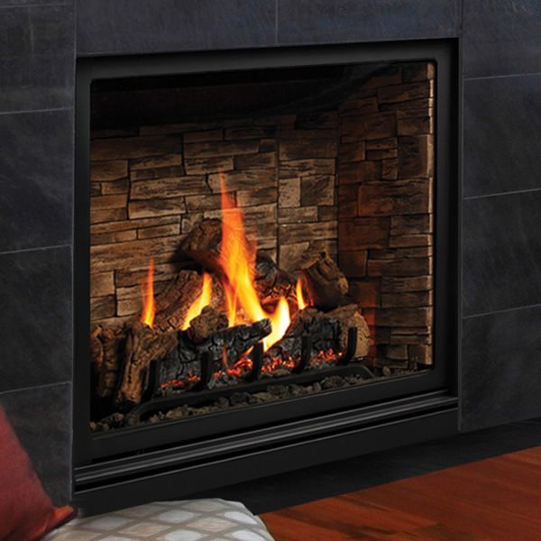 "Kingsman ZCV39H Zero Clearance Direct Vent Gas Fireplace - 39"" image number 0"