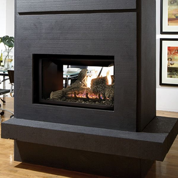 Kingsman MDV31 See Through Direct Vent Gas Fireplace image number 0