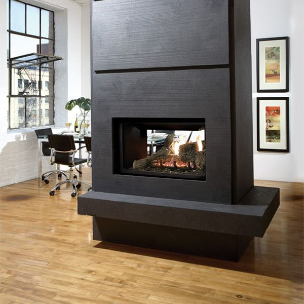 Kingsman MDV31 See Through Direct Vent Gas Fireplace image number 1