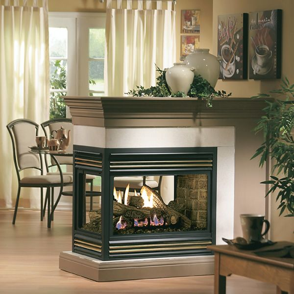Kingsman MDV31 Peninsula Direct Vent Gas Fireplace image number 1