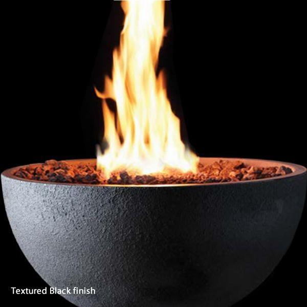 Concrete Gas Fire Pit Bowl image number 1
