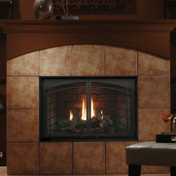 "Kingsman HBZDV4224 Zero Clearance Direct Vent Gas Fireplace - 42"" image number 0"