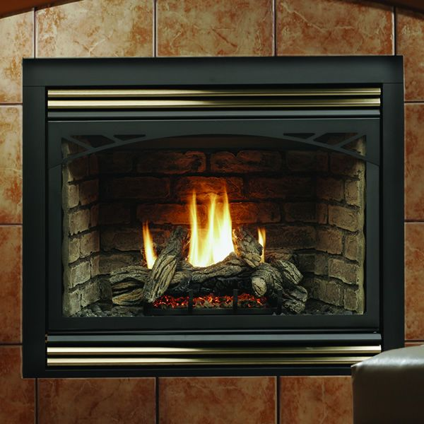"Kingsman HBZDV4228 Zero Clearance Direct Vent Gas Fireplace - 42"" image number 0"