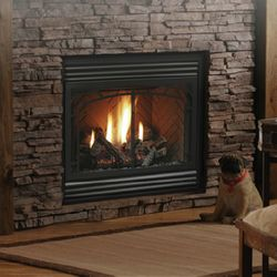 "Kingsman HBZDV3624 Zero Clearance Direct Vent Gas Fireplace - 36"""
