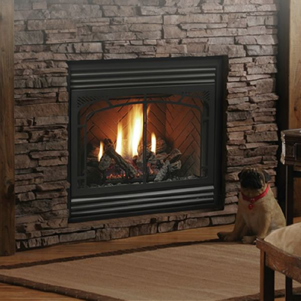 "Kingsman HBZDV3624 Zero Clearance Direct Vent Gas Fireplace - 36"" image number 0"