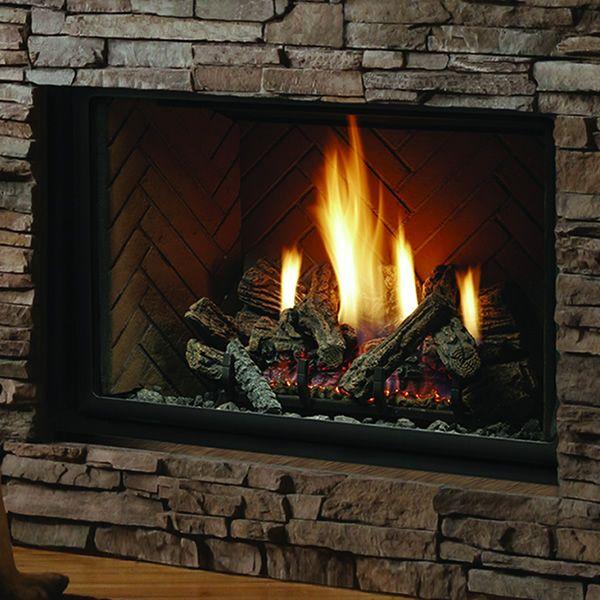 "Kingsman HBZDV3628 Zero Clearance Direct Vent Gas Fireplace - 36"" image number 0"