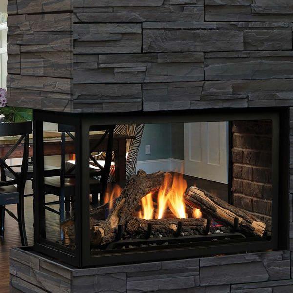 Kingsman MCVP42 Decorative Peninsula Direct Vent Gas Fireplace image number 0