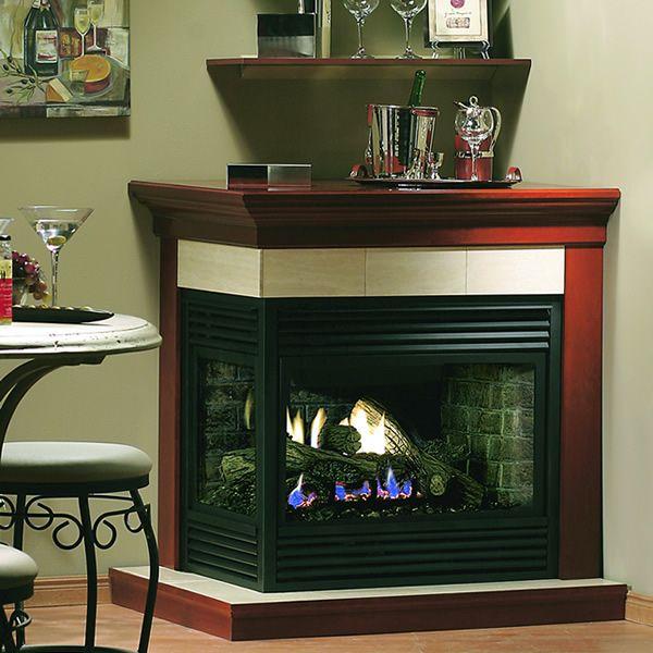 Kingsman MDV31 Corner Gas Direct Vent Fireplace image number 0