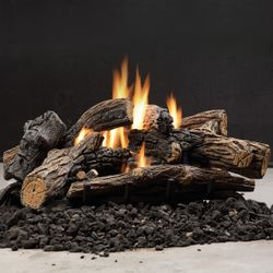 Kingsman Multi-Sided Ventless Log Set - 34""