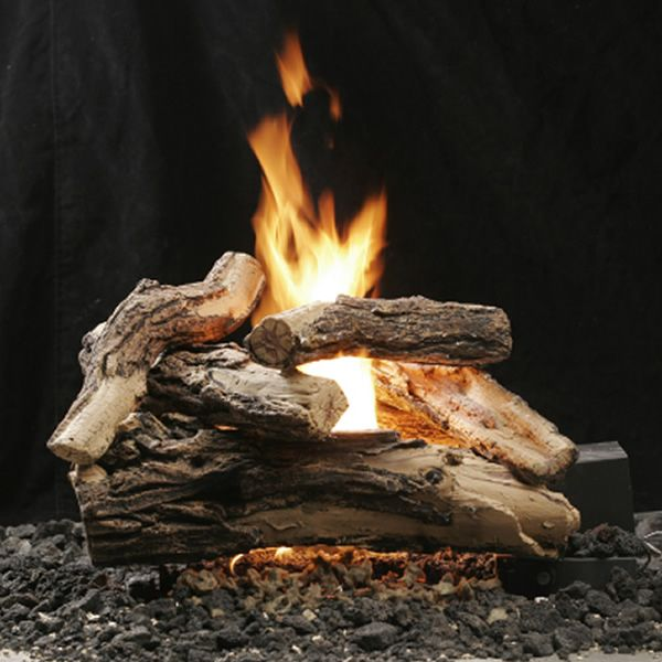"Kingsman Split Oak Vented Log Set - 18"" image number 0"