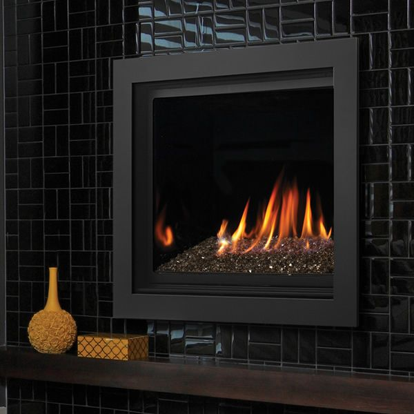 "Kingsman ZCV42 Decorative Zero Clearance Direct Vent Gas Fireplace - 42"" image number 0"