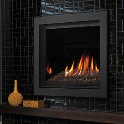 "Kingsman ZCV42 Decorative Zero Clearance Direct Vent Gas Fireplace - 42"""