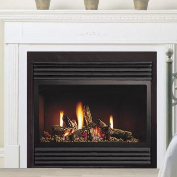"Kingsman ZDV3318 Zero Clearance Direct Vent Gas Fireplace - 33"" image number 0"