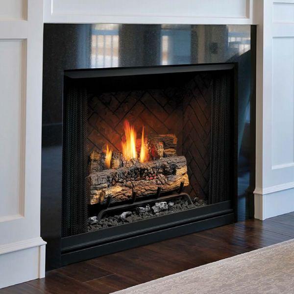 "Kingsman ZVFCV42 Vent Free Gas Fireplace - 42"" image number 0"
