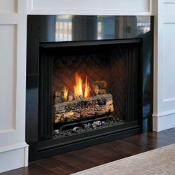 Kingsman ZVFZCV47 Vent Free Gas Fireplace - 47""