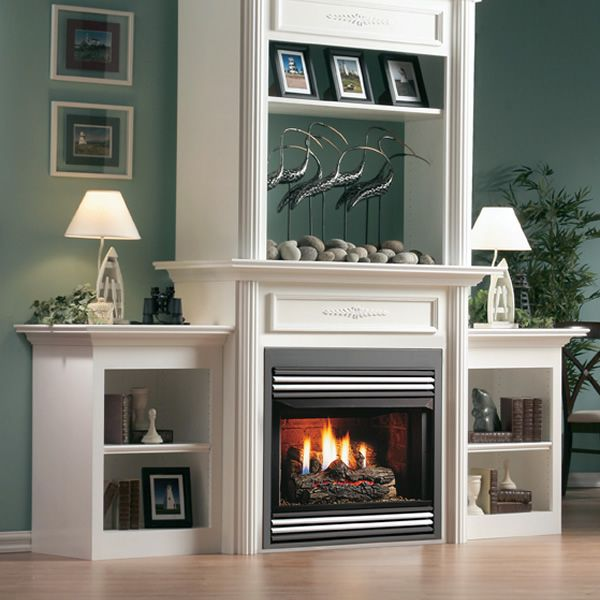 "Kingsman ZVF33 Vent Free Zero Clearance Gas Fireplace - 33"" image number 1"