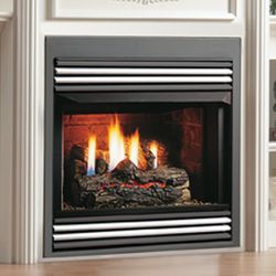 Kingsman ZVF33 Vent Free Zero Clearance Gas Fireplace - 33""