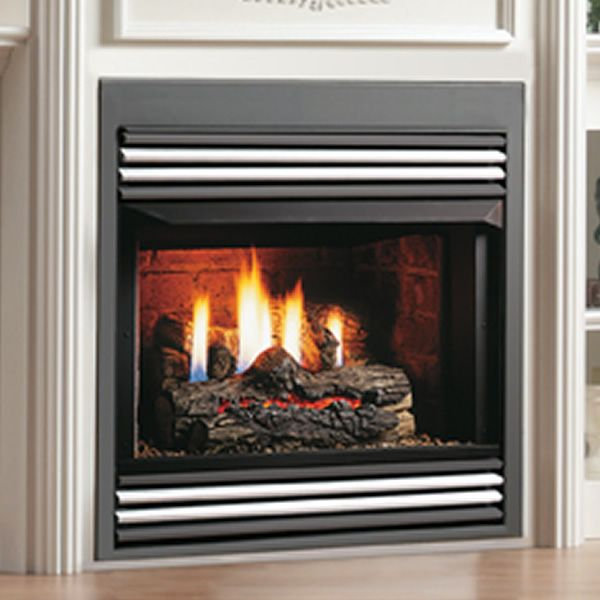 "Kingsman ZVF33 Vent Free Zero Clearance Gas Fireplace - 33"" image number 0"