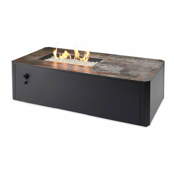 Kinney Rectangular Gas Fire Pit Table image number 0