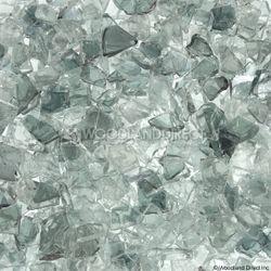 "Krystal Fire - Fire Glass - 1/4""-1/2"" Clear Filler"