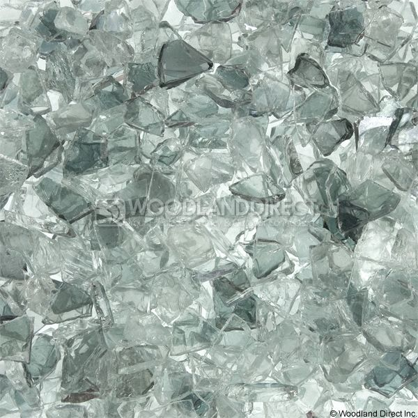 "Krystal Fire 1/4""- 1/2"" Clear Filler Fire Glass image number 0"
