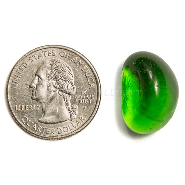 Krystal Fire Gem Green Fire Glass - 10 lbs. image number 2