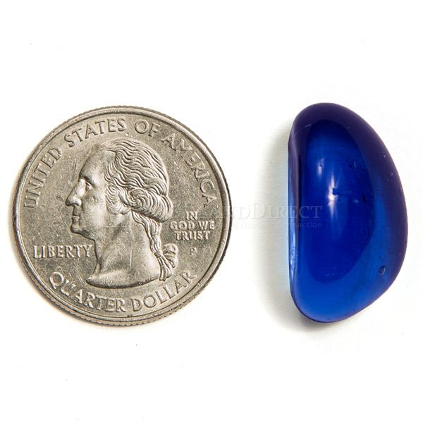 Krystal Fire Gem Royal Blue Fire Glass - 10 lbs. image number 2