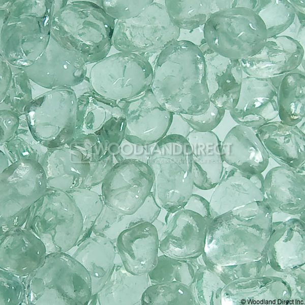 """Krystal Fire 1/4"""" Smooth Ice Fire Glass image number 1"""