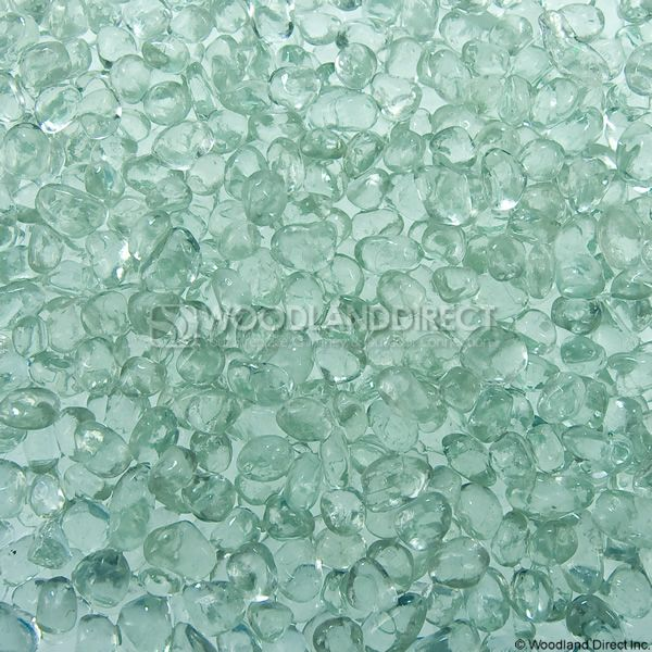 """Krystal Fire 1/4"""" Smooth Ice Fire Glass image number 0"""